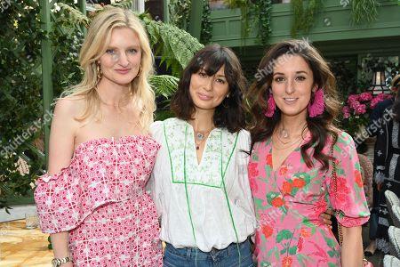 Candice Lake, Jasmine Hemsley and Rosanna Falconer