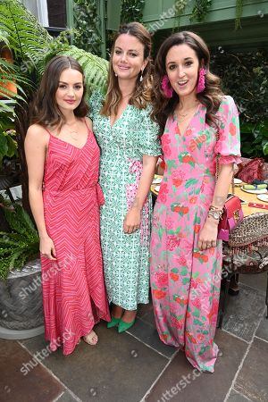Niomi Smart, Natasha Rufus Isaacs and Rosanna Falconer