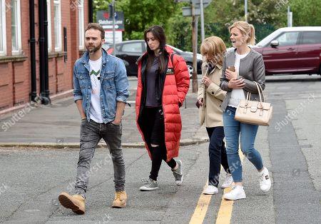 Editorial photo of 'Coronation Street' TV show on set filming, Warrington, UK - 22 May 2019