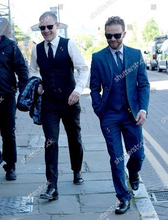 Jack P Shepherd and Ben Price