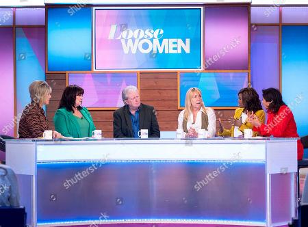 Ruth Langsford, Coleen Nolan, Charlie Lawson, Debbie Stanley, Kelle Bryan and Saira Khan