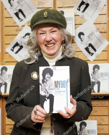 Philomena Lynott book signing at Easons, O'Connell St, Dublin, Ireland.