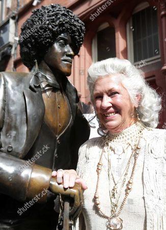 Editorial image of Philomena Lynott, mother of Phil Lynott