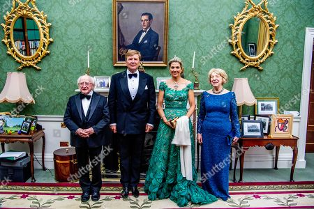 Editorial photo of King Willem-Alexander and Queen Maxima visit to Ireland - 12 Jun 2019