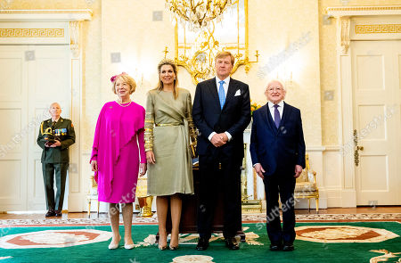 Editorial picture of King Willem-Alexander and Queen Maxima visit to Ireland - 12 Jun 2019