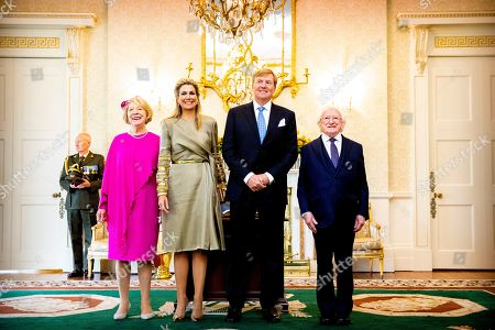 Editorial image of King Willem-Alexander and Queen Maxima visit to Ireland - 12 Jun 2019