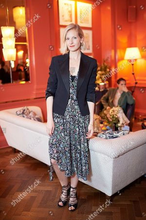 Savannah Miller attends the Matthew Williamson afternoon tea at The Coral Room to launch the collection with Newby Teas of London