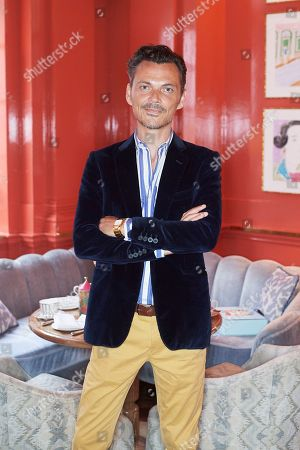 Matthew Williamson host afternoon tea at The Coral Room to launch his collection with Newby Teas of London