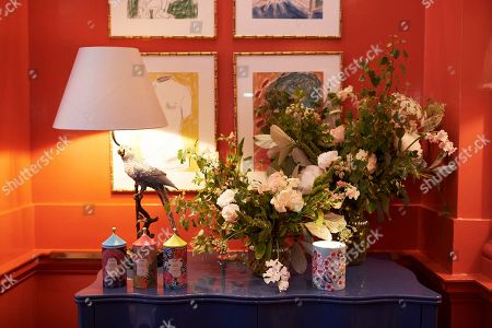 Matthew Williamson hosts afternoon tea at The Coral Room to launch his collection with Newby Teas of London