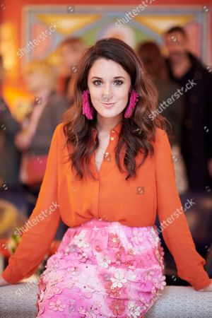 Rosanna Falconer attends the Matthew Williamson afternoon tea at The Coral Room to launch the collection with Newby Teas of London