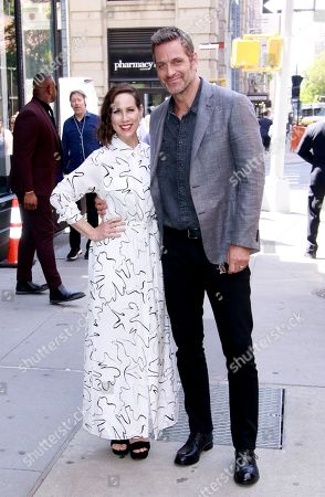 Miriam Shor and Peter Hermann