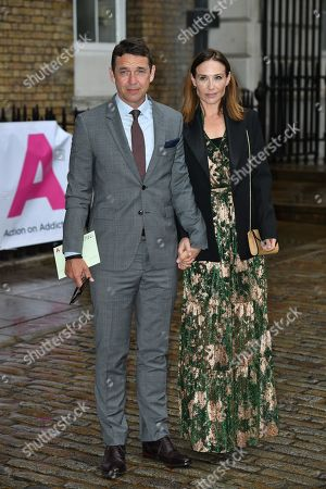 Dougray Scott and wife Claire Forlani