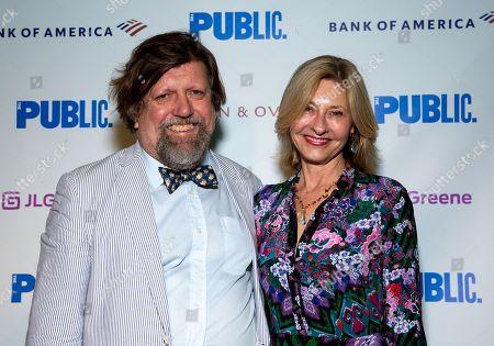 Oskar Eustis and Laurie Eustis