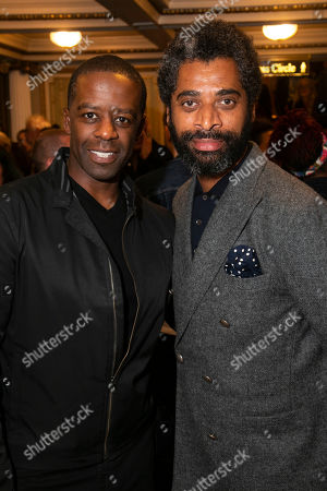 Adrian Lester and Karl Collins
