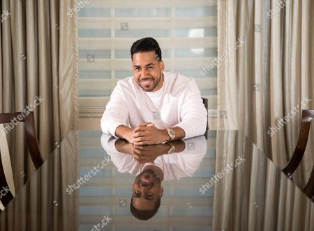 Romeo Santos poses for a portrait in New York