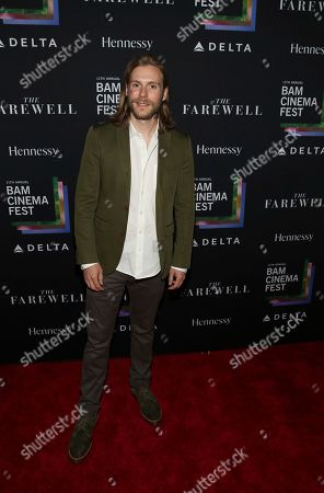 "Zachary Booth attends the 11th annual BAMcinemaFest opening night premiere of ""The Farewell"" at BAM Rose Cinemas, in New York"