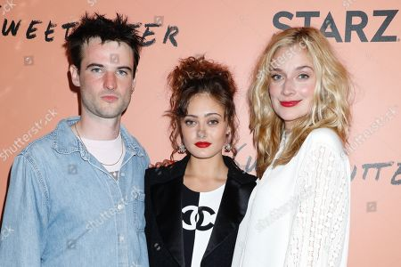 Tom Sturridge, Ella Purnell and Caitlin Fitzgerald