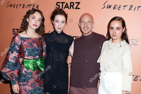 Katerina Tannenbaum, Eden Epstein, Daniyar and Sadie Scott
