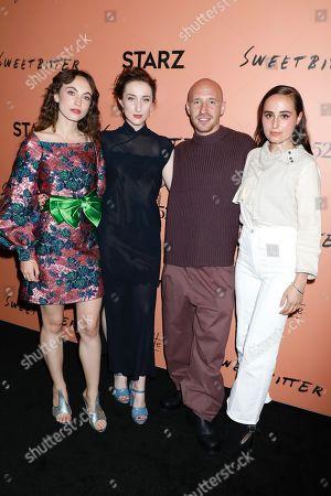Stock Picture of Katerina Tannenbaum, Eden Epstein, Daniyar and Sadie Scott