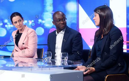 Stock Image of Annunziata Rees-Mogg, Sam Gyimah and Lisa Nandy