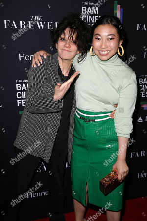 Amy Heckerling and Awkwafina