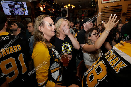 Editorial picture of Stanley Cup Blues Bruins Reax Hockey, Boston, USA - 12 Jun 2019