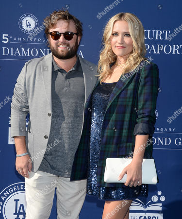 Stock Picture of Haley Joel Osment and sister Emily Osment