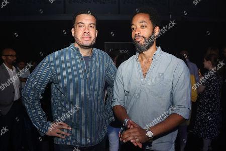 Stock Picture of Ezra Edelman and Wyatt Cenac