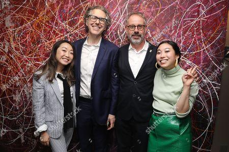 Lulu Wang (Director), Ira Glass, Peter Saraf (Producer) and Awkwafina