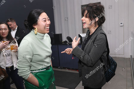 Stock Image of Awkwafina and Amy Heckerling