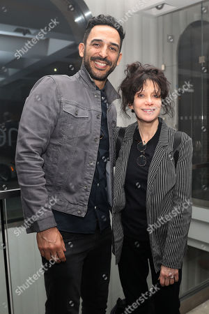 Stock Picture of Amir Arison and Amy Heckerling