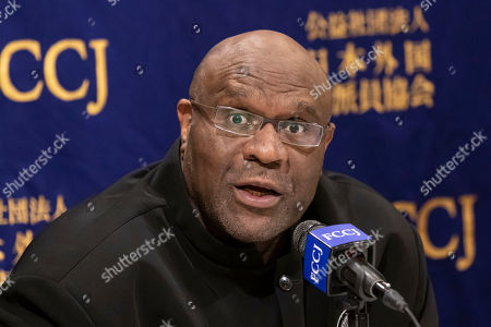 Editorial picture of Bob Sapp at the Foreign Correspondents' Club of Japan, Tokyo, Japan - 07 Jun 2019