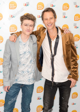 Chesney Hawkes and Casey Hawkes