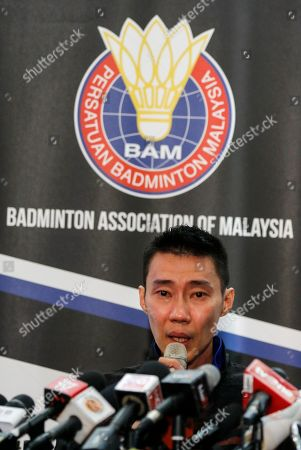Editorial image of Malaysian badminton player Lee Chong Wei retires, Putrajaya, Malaysia - 13 Jun 2019