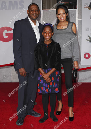 Forest Whitaker, wife Keisha Nash and daughter Sonnet Whitaker