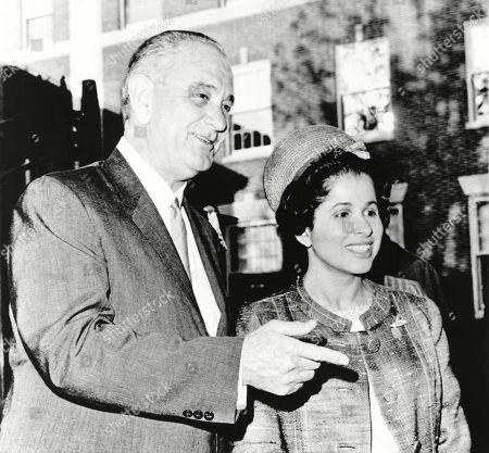 President Johnson chats with Patricia Harris, Professor of Constitutional Law at Howard University. Lyndon Johnson appointed her Ambassador to Luxembourg. She was the U.S.s first African-American woman in the high diplomatic position. June 4, 1965.