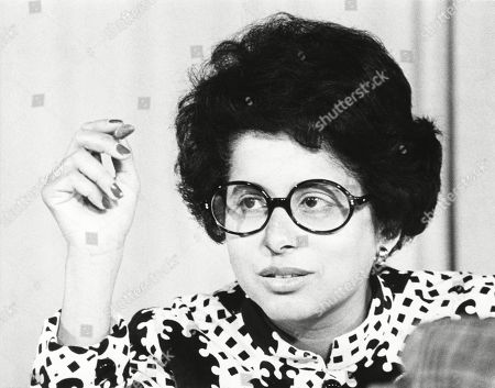 Patricia Harris as chairman of the Democratic Party's Credentials Committee, June 29, 1972.