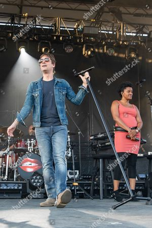 Rob Thomas during the Chip Tooth Tour