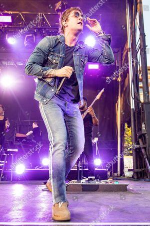 Editorial photo of Rob Thomas in concert, Madison, Wisconsin, USA - 07 Jun 2019