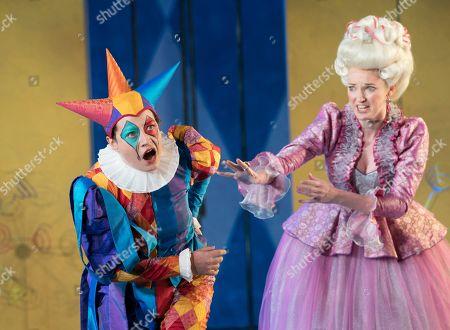 Jennifer France as Princess Elsbeth, Hanna Hipp as Fantasio