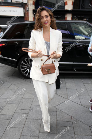 Editorial picture of 'L.A.'s Finest' TV show cast out and about, London, UK - 13 Jun 2019