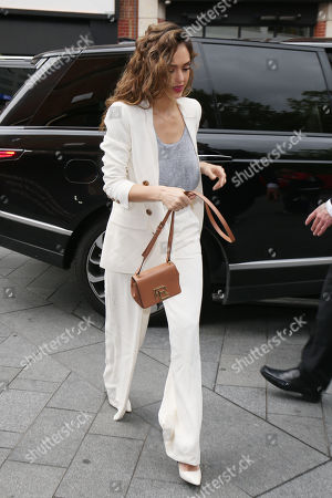 Editorial photo of 'L.A.'s Finest' TV show cast out and about, London, UK - 13 Jun 2019