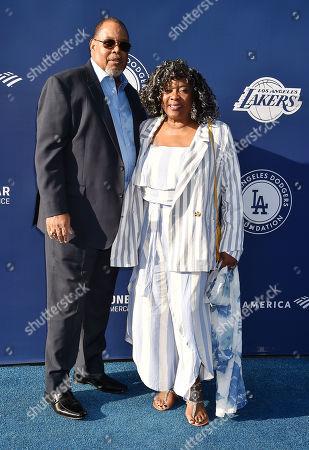 Stock Image of Glenn Marshall and Loretta Devine