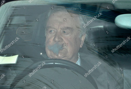 Ken Clarke is driven to the Houses of Parliament for the first round of voting for the Conservative party leadership at the Commons in London, Britain, 13 June 2019. Ten MPs are running for the party's leadership to replace the resigning Conservative Leader and Prime Minister. Candidates need to secure at least 17 votes in the first round, eventually leading to a run-off between two Tory candidates.