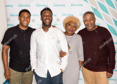 Coronation Street - The Bailey Family, Trevor Georges, Lorna Laidlaw, Nathan Graham and Ryan Russell