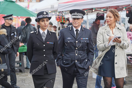Rob Lowe as Bill Hixon. Anjli Mohindra as ACC Lydia Price and Angela Griffin as Lisa Cranston.