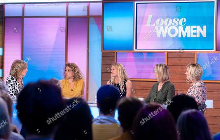 Editorial image of 'Loose Women' TV show, London, UK - 13 Jun 2019