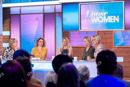 Kaye Adams, Nadia Sawalha, Kim Leadbeater, Carol McGiffin and Jane Moore