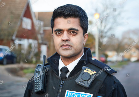 Stock Photo of Divian Ladwa as PC Drakes.