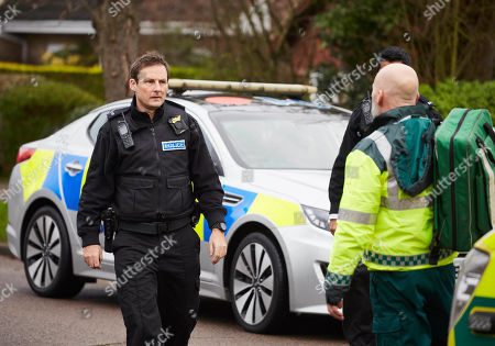 Stock Picture of Anthony Flanagan as PC Sean Cobley.